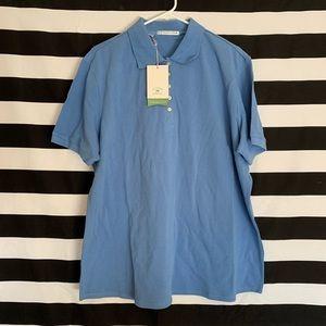 Cutter and Buck XXL Blue Golf shirt 👕